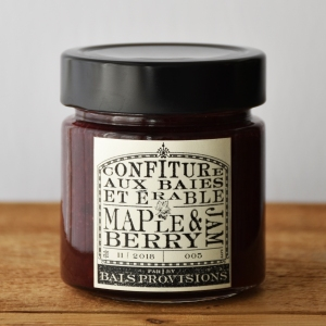 maple berry jam